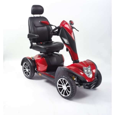 Cobra 8mph Scooter - Red (Batteries Not Included)