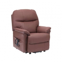 Lars Dual Motor Chair - Burgundy